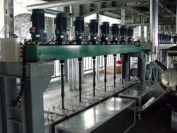 紡糸工程(ギヤポンプ、駆動軸)