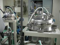 生物医療用繊維の溶融押出工程